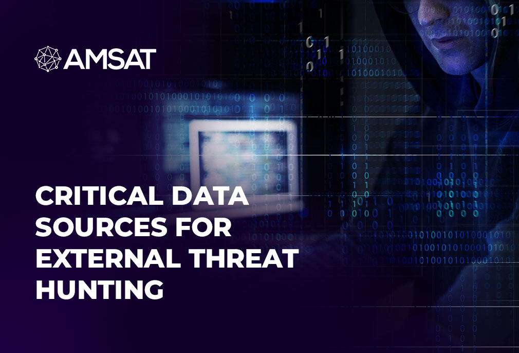Critical Data Sources for External Threat Hunting