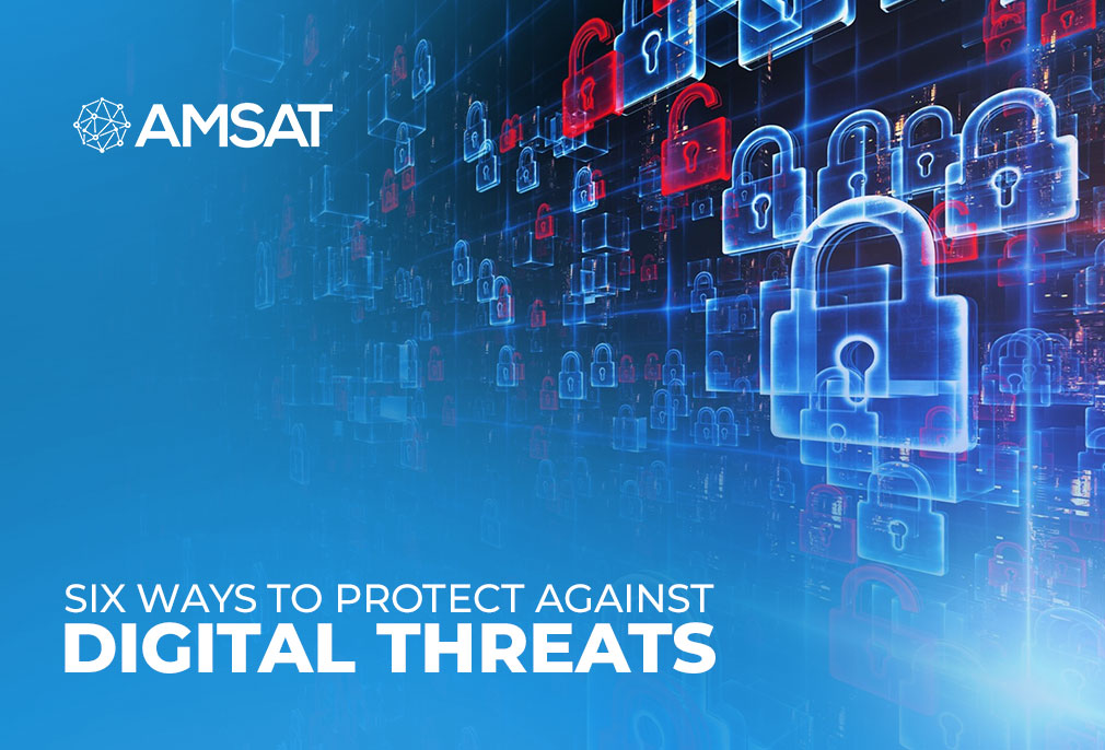 Six ways to protect against digital threats